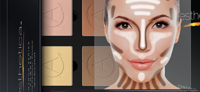 Aesthetica-Cosmetics-Contour-and-Highlighting-Powder-Foundation-Palette