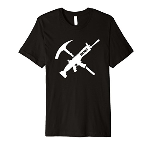 Fortnite Tools Shirt SCAR and Pickax