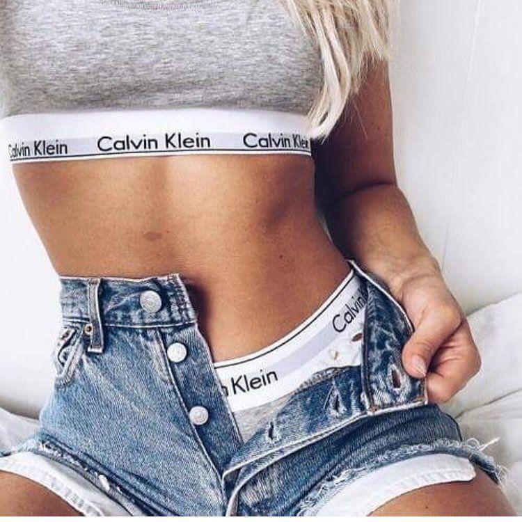 Calvin Klein grey bra